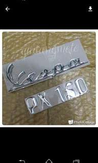 Sticker 3d vespa px New