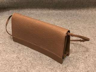 LV Pochette Handbag Epi Leather