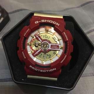G-Shock 鋼鐵人