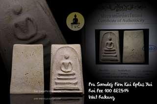 Pra Somdej Pim Kai Bplas Yai Roi Pee 100 BE2515 Wat Rakang