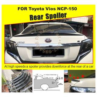 Toyota Vios 15+ NCP150 Ducktail
