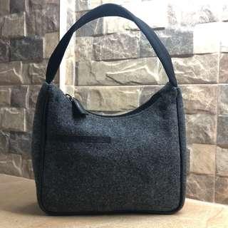 💯% AUTHENTIC PRADA WOOL HAND BAG