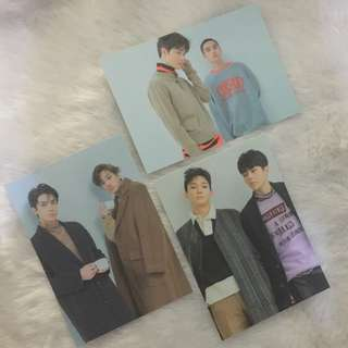 EXO Universe OTP Postcards