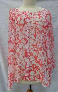 Coral Shirt Big Size M&S