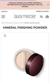 Laura Mercier Mineral Finishing Powder #2
