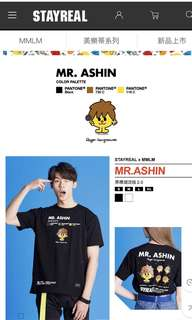 STAYREAL x MMLM - MR.ASHIN T-SHIRT