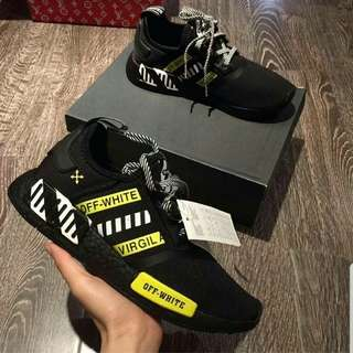 nmd x off white  virgila size