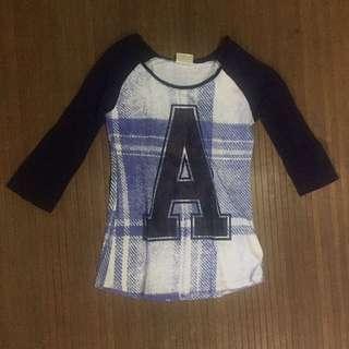 "COTTON ON ""A"" Baseball-type Shirt"