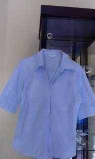 Kemeja Blue Soft (kemeja kerja)