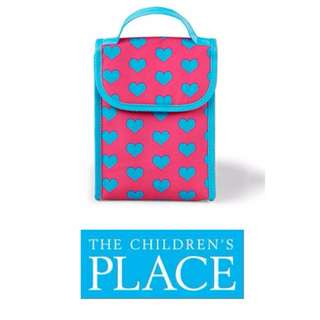 THE CHILDREN'S PLACE insulated lunch bag