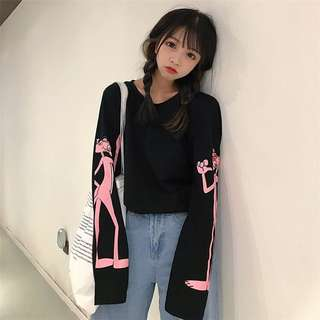 [PO] Pink Panther Pullover