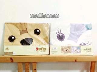 香港迪士尼Duffy & Stellalou枕頭袋套裝