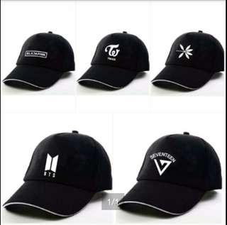 [√] BTS / EXO / TWICE / SEVENTEEN / BLACKPINK CAP