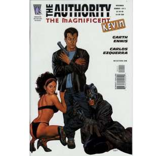 THE AUTHORITY: THE MAGNIFICENT KEVIN #1-5 (2005) Complete set