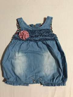 Romper Jeans (Soft Cloth)