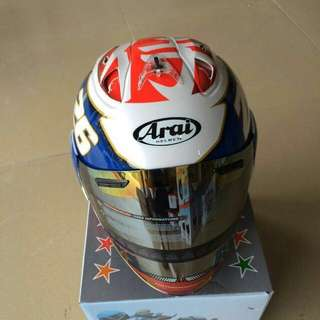 Helmet Arai ( Promosi)