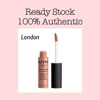 NYX Soft Matte Lip Cream - London