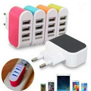 Charger 3 usb
