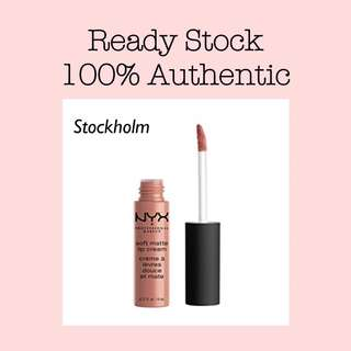 NYX Soft Matte Lip Cream - Stockholm