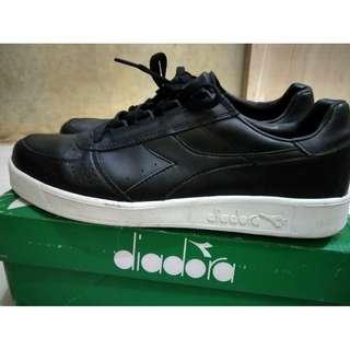 Sepatu diadora borg elite leather original not Adidas Vans converse