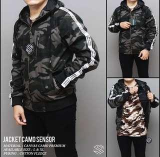 Jaket Camo All size