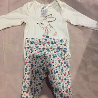 H&M baby set rompers