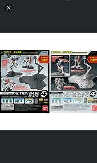 Bandai Action Base 4 Black/Clear