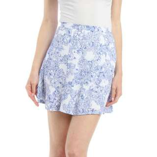American Apparel Patterned Skirt