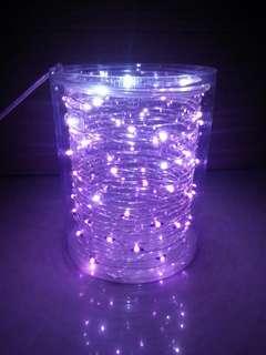 LED 燈串 - 淺紫色