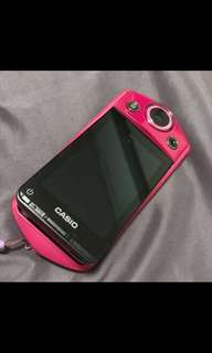 Casio exilim tr 15 selfie camera  limited pink