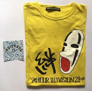 24Hour Television Studio Ghilbi Graphic Tee