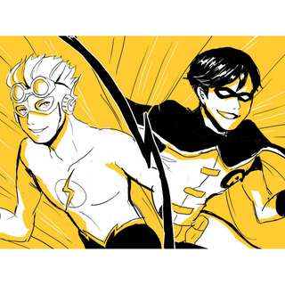 Young Justice Print