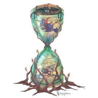 OtGW Hourglass Print