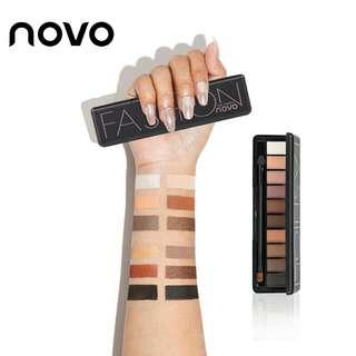 Novo Eyeshadow Makeup Palette 10 colors