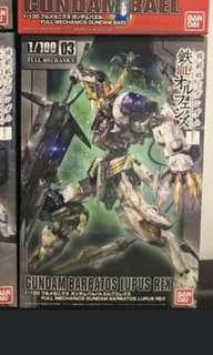 1/100 Gundam Barbatos Lupus Rex
