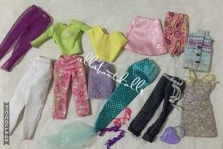 Assorted Doll Clothes Set (12pcs)