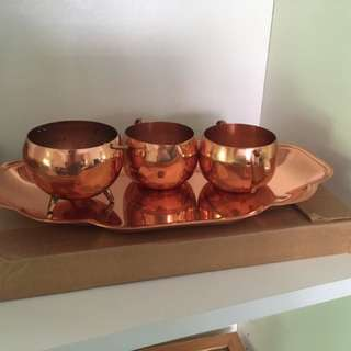 Coppercraft Guild tea set