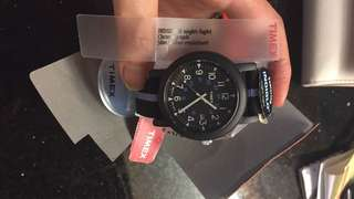 Timex watch chronograph indiglo
