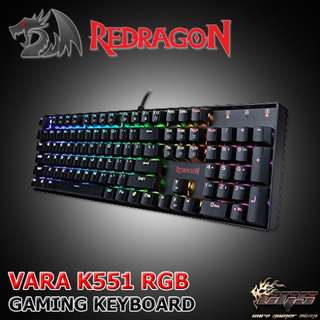 Redragon Vara k551 RGB Mechanical Keyboard