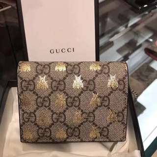 Gucci supreme bees  wallet