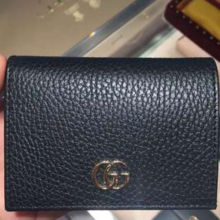Gucci GG marmont wallet  短銀包