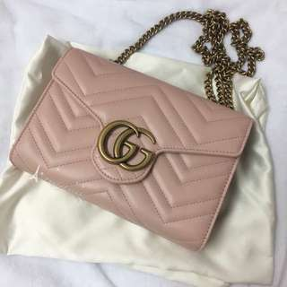 Gucci  Marmont WOC  mini bag