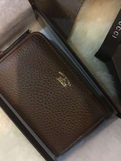 Authentic Gucci Card/Cash/Coin wallet