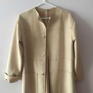 ZARA beige trench coat (S)