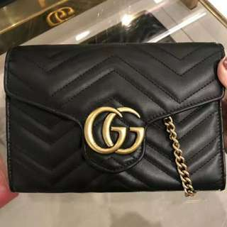 Gucci GG marmont woc mini bag