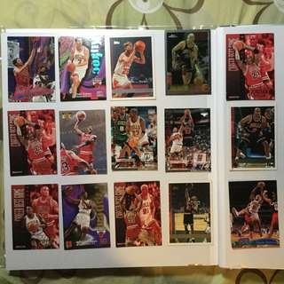 NBA CARD Chicago Bulls Jordan