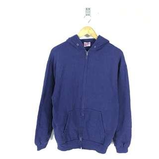 Vtg Hanes Sweater Zipper 50/50