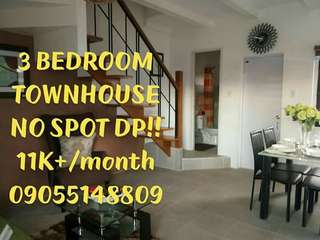 3 BEDROOM TOWNHOUSE IN GEN TRIAS, CAVITE, NEAR TAGAYTAY AND AMADEO, NO SPOT DP!
