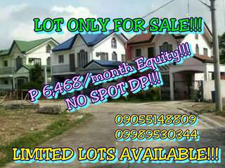 LOT ONLY FOR SALE IN DASMARINAS Bayan! HULUGAN! NO SPOT SP!!