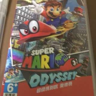 Switch 瑪莉歐 奧德賽 odyssey 中文 任天堂